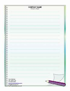 Loose Leaf Paper Template  4 Easy Ways To Create Lined