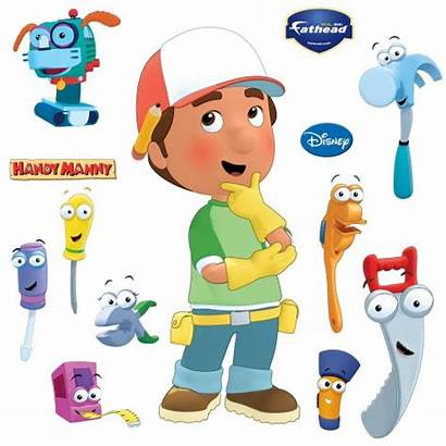 Handy Manny Wall Tools Clipart Decal Mandy