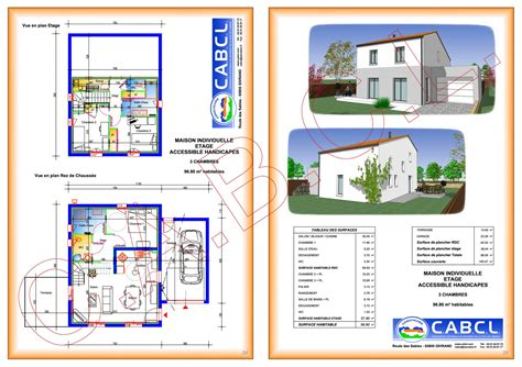 plan maison à étage 3 chambres plan maison a etage 3 chambres immobilier pour tous