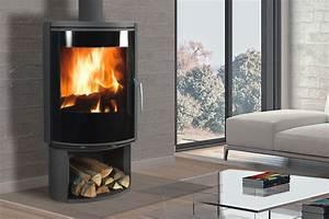 Poele A Bois Moderne : fonte flamme atout thermie ~ Dailycaller-alerts.com Idées de Décoration