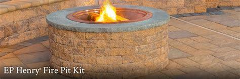 Ep Henry  Fire Pit Kit  Draguns Landscape Supply