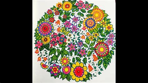 secret garden colouring book  colours  youtube