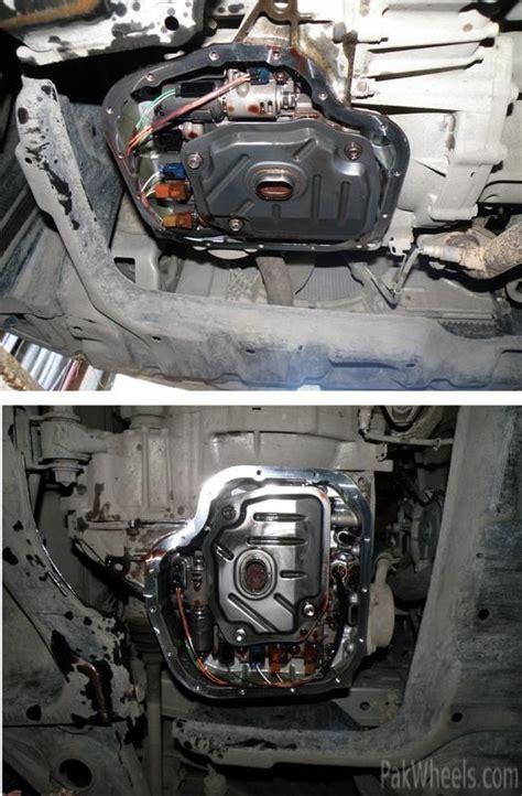 transmission oil change  toyota vitzbeltapasso