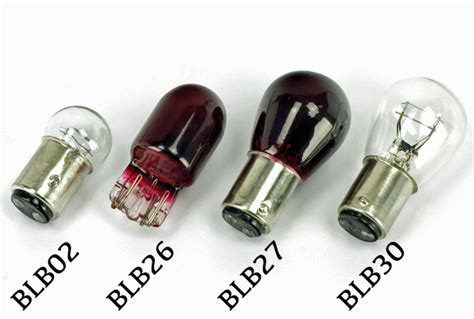 Motorcycle Rear Stop And Tail Light Bulbs 12v