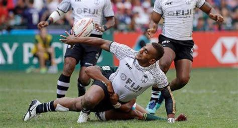 rugby  fiji wins  straight hong kong  beating kenya  final  malta independent