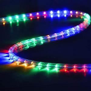 Led rope light v party home valentine wedding