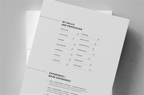 14998 minimal graphic design resume minimal resume cv curriculum vitae 12 pages on