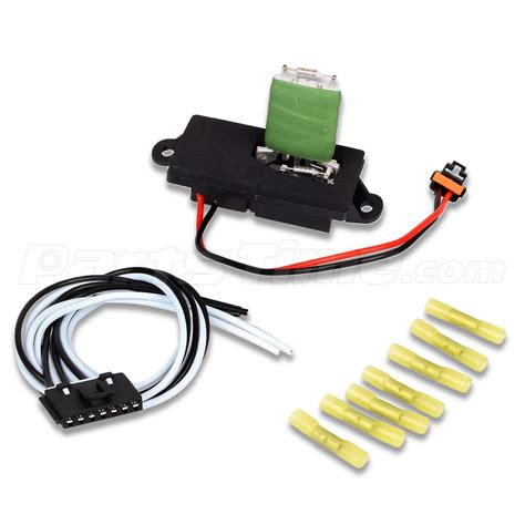 Hvac Blower Motor Resistor Wire Harness For Cadillac