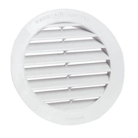 bouche aeration cuisine grille de ventilation ronde diam pvc 125 pa achat