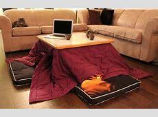 Kotatsu l'invention japonaise pour un hiver au chaud