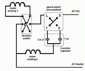 3 Speed Ceiling Fan Switch Wiring Diagram