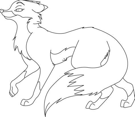 fox lineart  ktlasair  deviantart