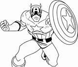 Coloring Superhero Pages Hero Cartoon Jawar Zero Kindergarten Captain America Template Getdrawings sketch template