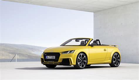 Audi Unveils 2016 Tt Rs Roadster