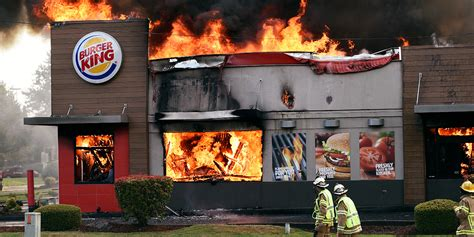 burger king siege social why burger king s burning stores are the print