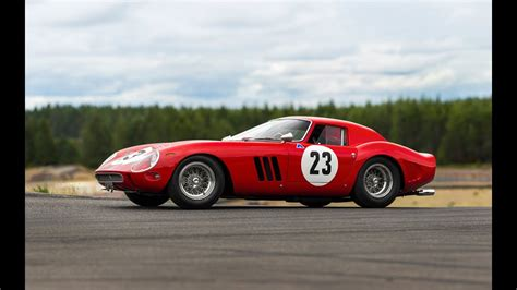 The ferrari gto (often referred to as ferrari 288 gto) is an exotic homologation of the ferrari 308 gtb produced from 1984 to 1987 in ferrari's maranello factory, designated gt for gran turismo and o for omologata (homologated in italian). 1962 Ferrari 250 GTO #3413 sells for a WHOPPING $48.4 million   Cars UK