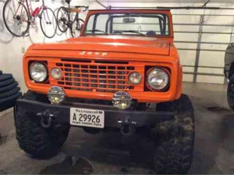 jeep commando    cadillac  turbo