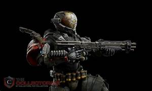 3A Toys Halo Reach Emile 1/6th Scale Action Figure   eBay