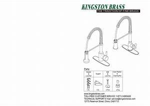 Kingston Brass Hgsy8881dkl Modern Single