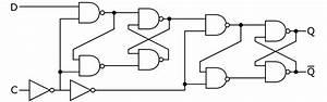 File D-type Flip-flop Diagram Svg