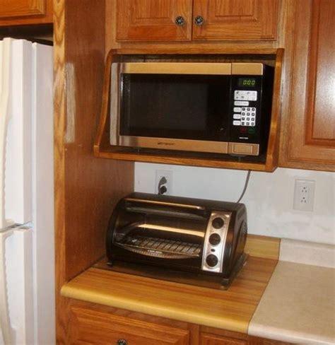 microwave shelf plans   build  microwave shelf