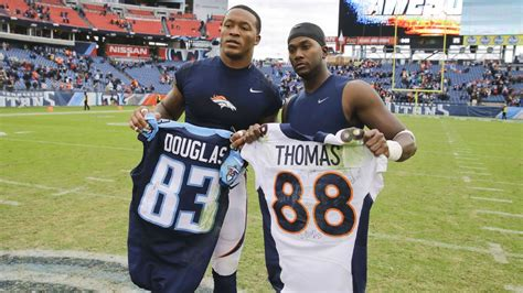 Demaryius Thomas Meant Ill Will Jersey Swap With