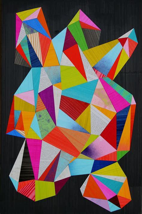Abstract Colorful Geometric Shapes by 252 Best Abstract Geometric Images On