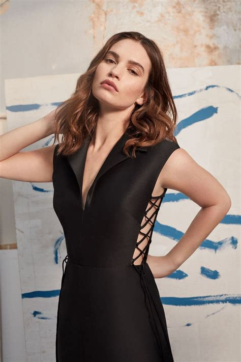 Lily James - Photoshoot for Harper's Bazaar (2020 ...