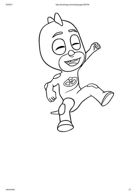 disegni da colorare geco pigiamini disegni da colorare dei pj masks geco che ride blogmamma