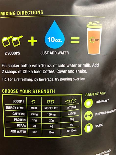 Yes, we know our high protein iced coffees and meal replacement shakes are absolutely delicious by themselves. CHIKE High Protein Mocha Iced Coffee Review