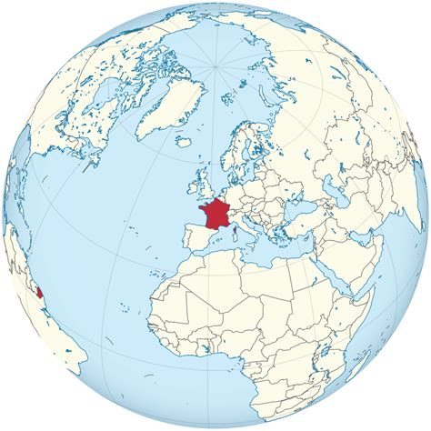 File:France on the globe (France centered).svg - Wikimedia ...