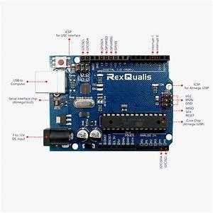Uno R3 Board Atmega328p Atmega16u2 Development Board