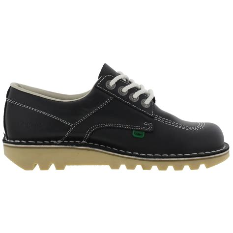 kickers eadlyn navy kickers womens kick lo leather navy blue shoes size 4 8 ebay