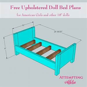 Woodwork American Girl Doll Bed Plans PDF Plans