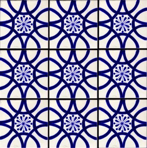 classic  traditional mexican tile latin accents