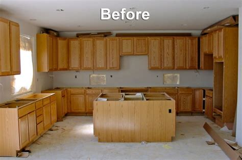 painting oak kitchen cabinets before and after ideas for painting oak kitchen cabinets all about house 9707