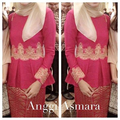 muslim kebaya images  pinterest kebaya lace