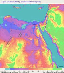 Egypt Elevation And Elevation Maps Of Cities  Topographic Map Contour