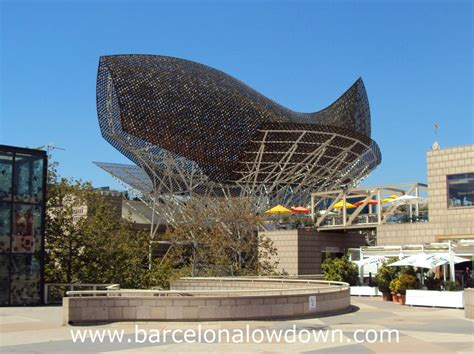 Frank Gehry's Golden Fish Sculpture - Barcelona Lowdown