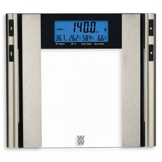 Weight Watchers® by Conair Glass Body Analysis Scale ...