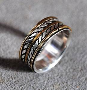 buy a hand crafted mens wedding ring with bronze guitar With guitar wedding ring