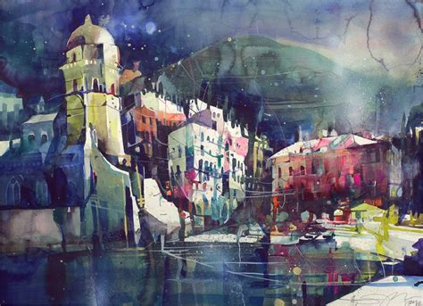Magical Paintings Of Cities You Thought You Knew By