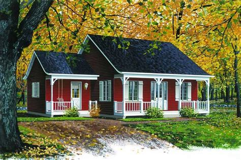 Country Ranch Home Plan 2 Bedrms 1 Baths 920 Sq Ft
