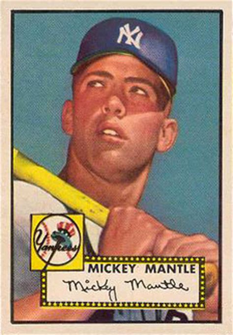 topps mickey mantle  baseball card  price guide