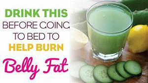 Drink This Fat Burning Drink Before Going To Bed And Burn Belly Fat Like Crazy
