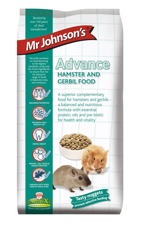 mr cuisine mr johnson 39 s advance hamster gerbil food