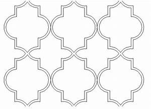 lady linda black diy ideas inspirations design With moroccan shapes templates