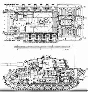 Cutaway Diagram Of The Tiger Ii  The Tiger Ii Was One Of