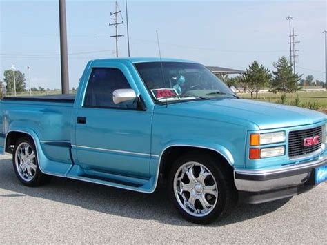 security system 1994 chevrolet 1500 auto manual purchase used 1994 gmc 1500 sierra step side 1 owner truck in clinton township michigan