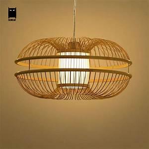 Lustre En Osier : lustre osier suspension bois design batailleaseattle ~ Teatrodelosmanantiales.com Idées de Décoration